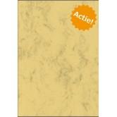 Perkament Papier (Marmer) - Chamois - A4 - 200 G/M2 - 125 vel