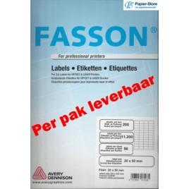 Fasson Etiket 210 - 297