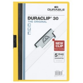 Klemmap Durable 2200 A4 3mm groen
