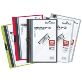 Klemmap Durable 2200 A4 3mm lila