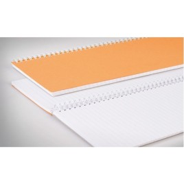 Notitieboek Atlanta 2206012600 A6 148x105mm met zijspiraal