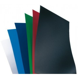 Voorblad GBC A4 Polycover 300micron blauw 100stuks
