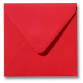 Envelop Roma 16 x 16 cm - 50 stuks - Donkeroranje
