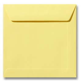 Envelop Roma 22 x 22 cm - 50 stuks - Zachtgeel
