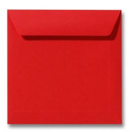 Envelop Roma 22 x 22 cm - 50 stuks - Donkeroranje