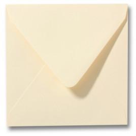 Envelop Roma 12 x 12 cm - 50 stuks - Ivoor