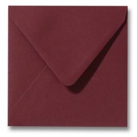 Envelop Roma 12 x 12 cm - 50 stuks - Pioenrood