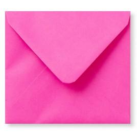 Envelop Roma 12 x 12 cm - 50 stuks - Donkerrose