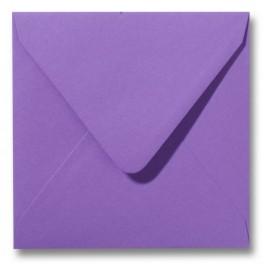 Envelop Roma 12 x 12 cm - 50 stuks - knalrose