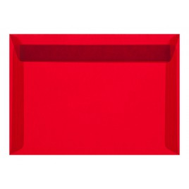 Transparant  - Oranje - striplock -  12,5 x12,5 cm -  pak 50 st.