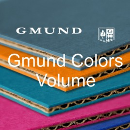 Gmund Colors Volume, GC 10 black (99), FSC - 670 GM - 670 x 980 mm - 10 vel