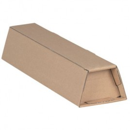 Trapezium verzendkokers A1+ Bruin pak 20stk binnenmaat 705x105/55x75 - 20 stuks