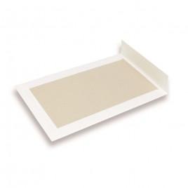 Verzendenvelop met kartonnen rug - 240x340 mm - 120 g/m2 - 100 st. - wit