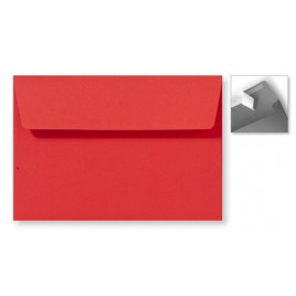 Envelop Striplock 12,6 x 18 cm - Appelgroen  - 120 GM - Rechte klep - Striplock