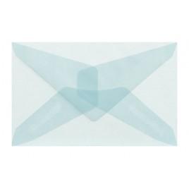 Transparant Wit 6,2 x 9,8 cm - GEGOMD