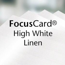 FocusCard Linnenpersing - wit - 300 G/M2 - SRA3 - 100 vel