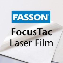 Fasson Laser PET matt -White permanent - 74g/m², 320x450 mm - 100 vel
