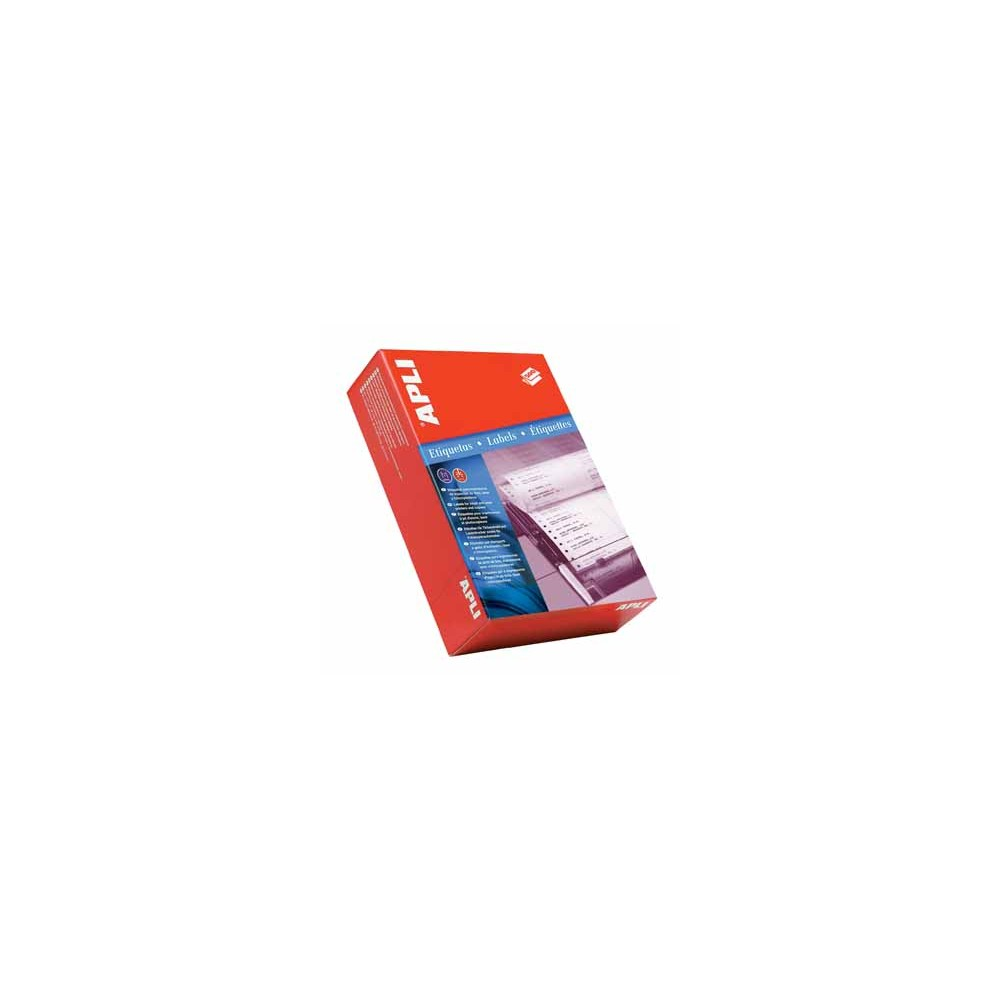 Apli etiketten op kettingpapier 1 rij ft 88 9 x 36 mm b x for Apli etiketten