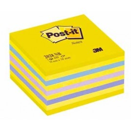Post-it Notes kubus blauw/oranje