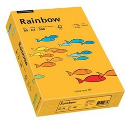 Rainbow  - Middeloranje - 22 - A4 - 80 g/m2 - 500 vel