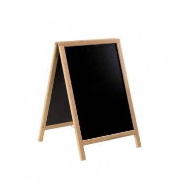 Krijtstoepbord MAHONIE bxh 55x85 cm