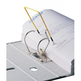 5 Star archiefbinder D-clip, rood