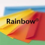 Rainbow gekleurde eveloppen