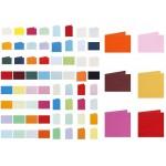 Gekleurde kaarten divers