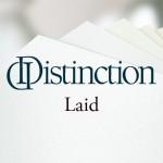 Distinction Laid Papier