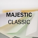 Majestic Classic Marble White Enveloppen